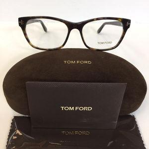 051b1f6e6a4f Tom Ford 5405 052 Havana plastic Eyeglasses 54mm